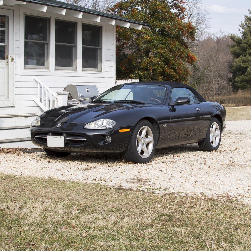 2000 Jaguar XK8 Black Convertible