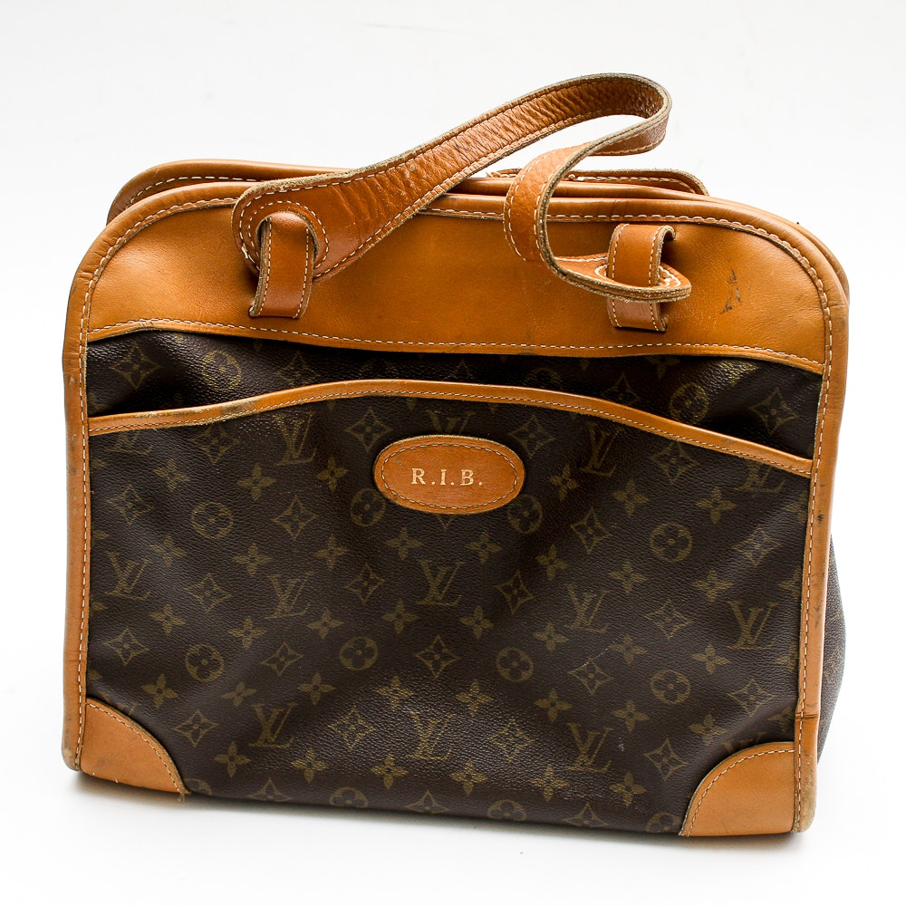 Vintage Louis Vuitton Carry-On Tote