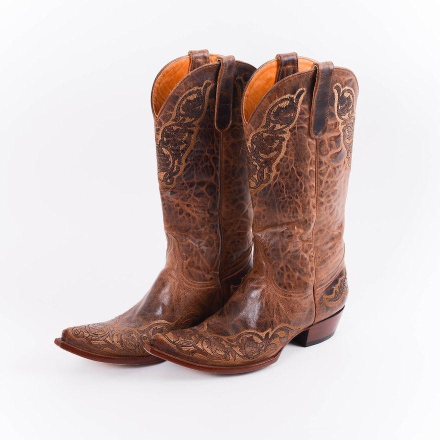 4990e9924a9 Pair of Women's Old Gringo Cowboy Boots 8B