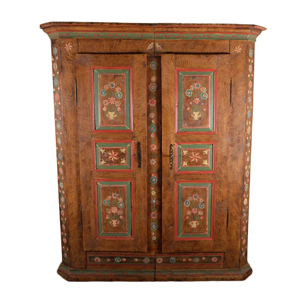 Antique French Wedding Armoire