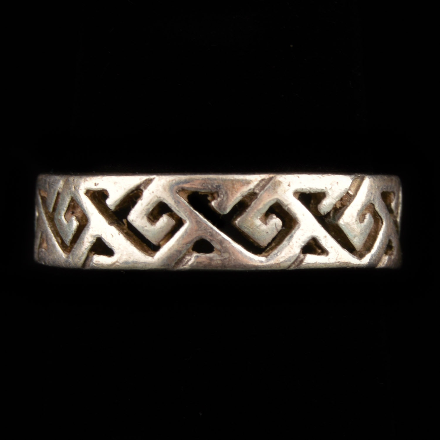 Sterling Silver Celtic Ring from Scotland