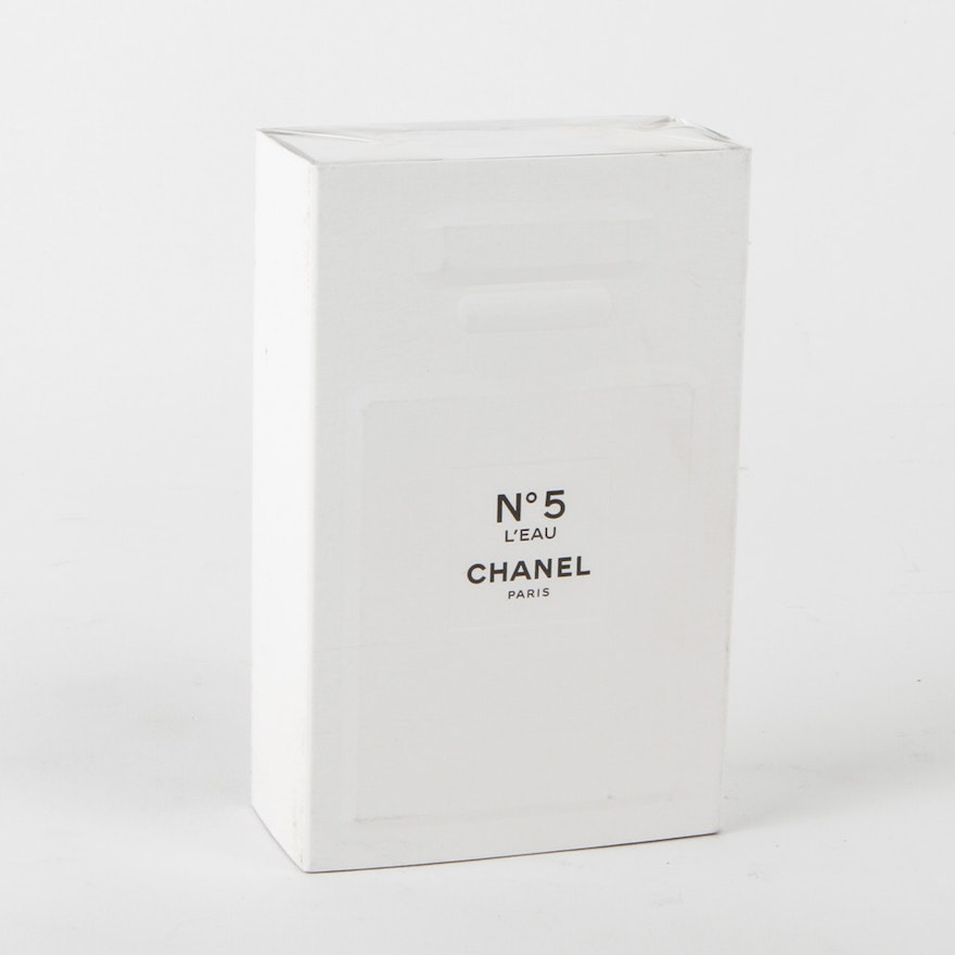 chanel no 5 l 39 eau perfume for women ebth. Black Bedroom Furniture Sets. Home Design Ideas
