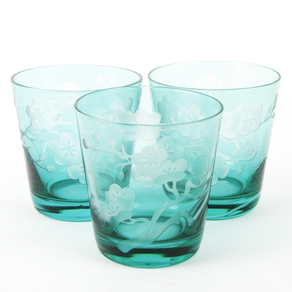 Tinted Glass Tumblers