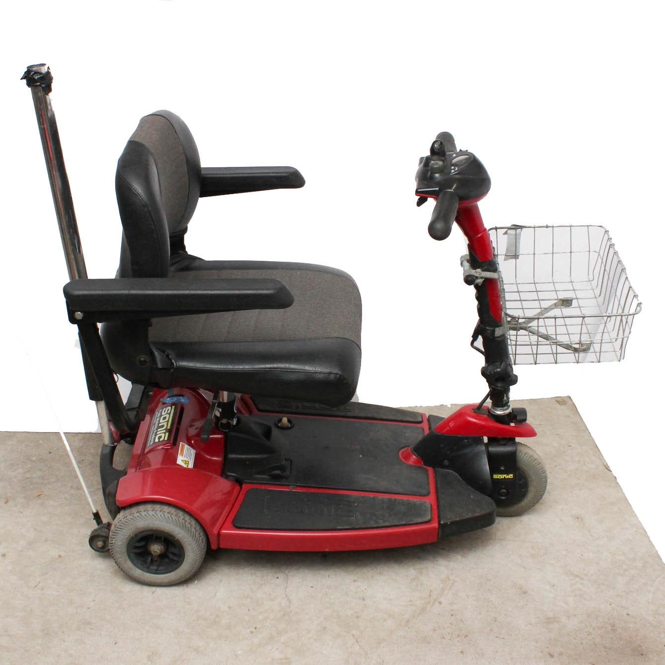 pride sonic mobility scooter ebth rh ebth com Pride Sonic Factory Service Manual Sonic Scooter Batteries