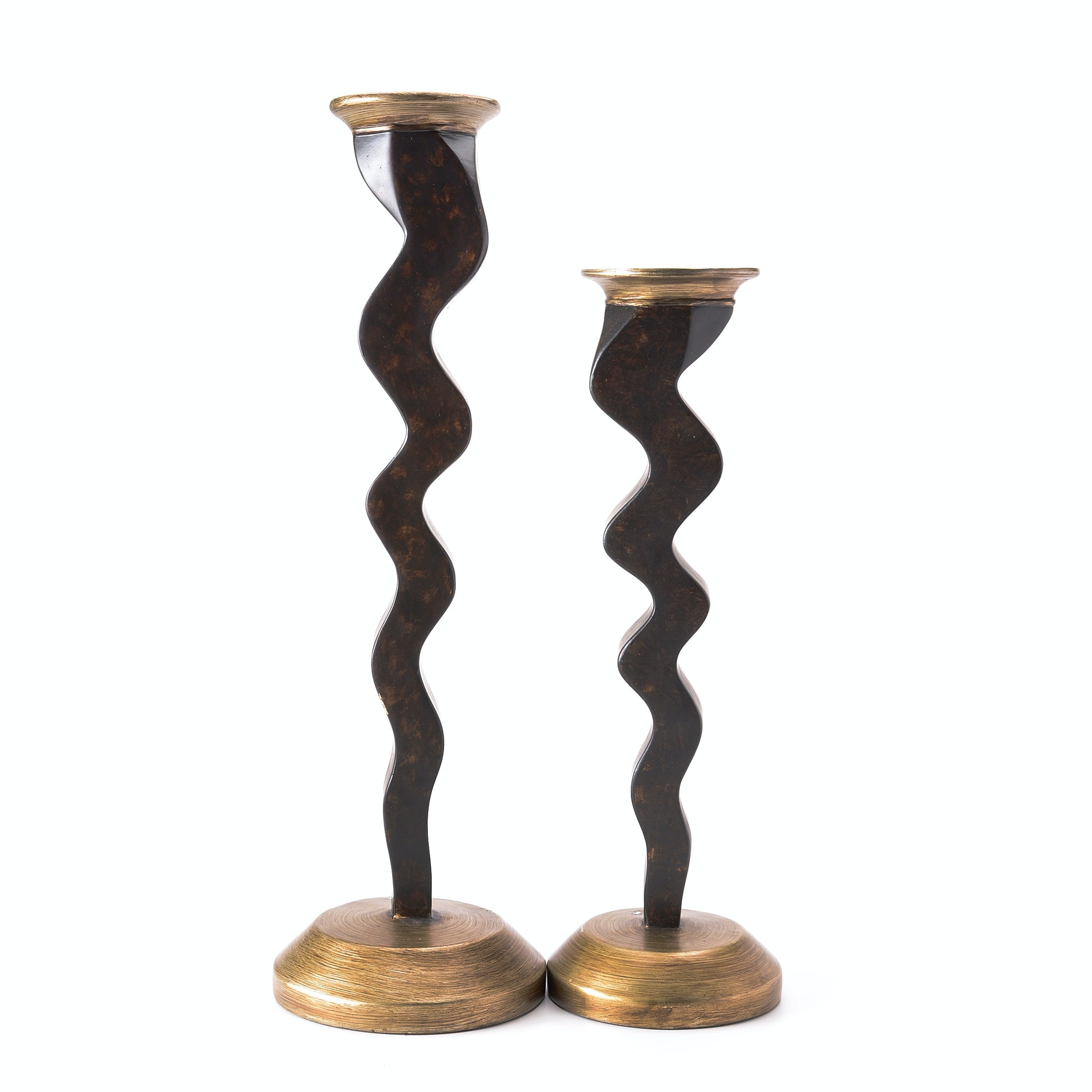 Pair of Contemporary Candle Holders