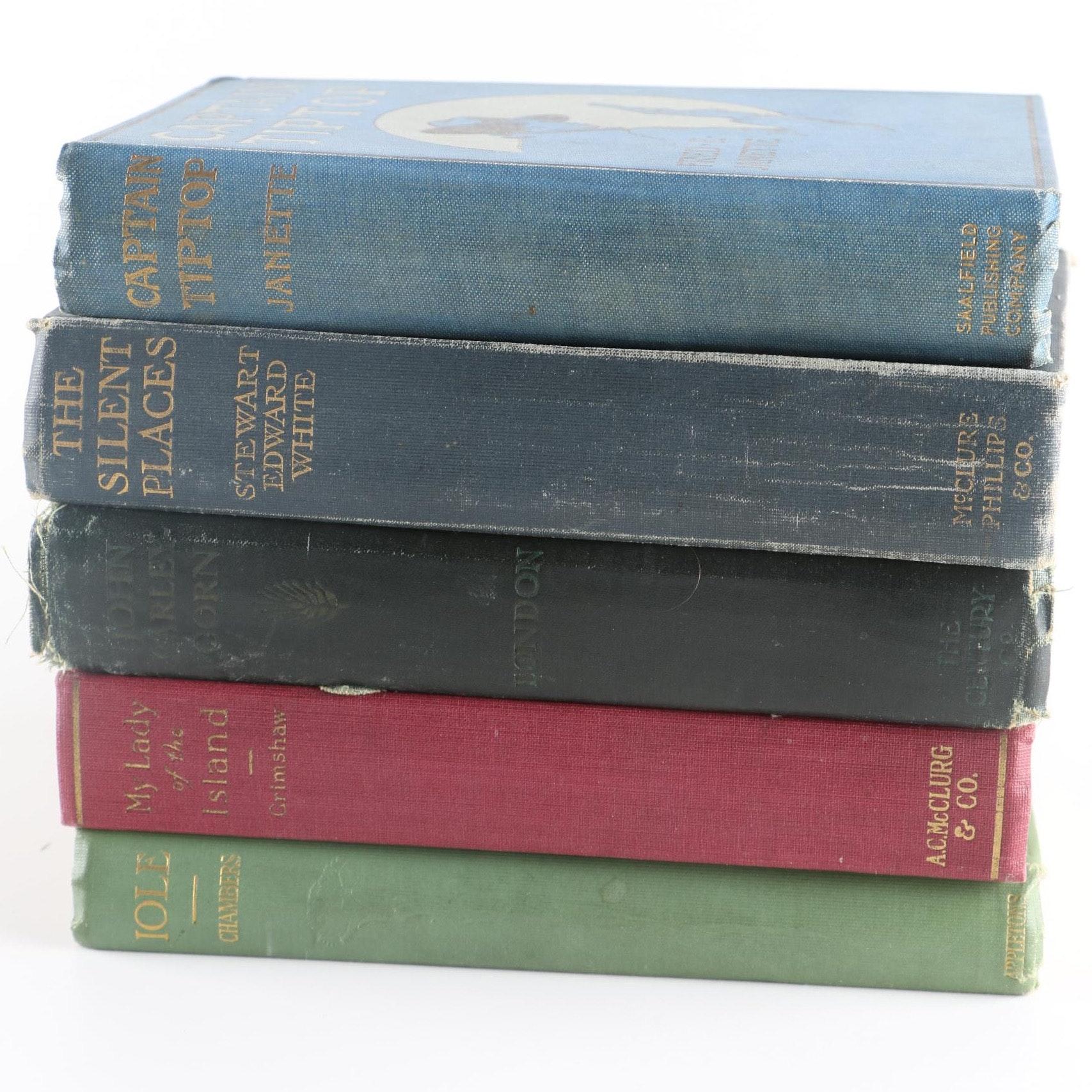 Antique Hardcover Books
