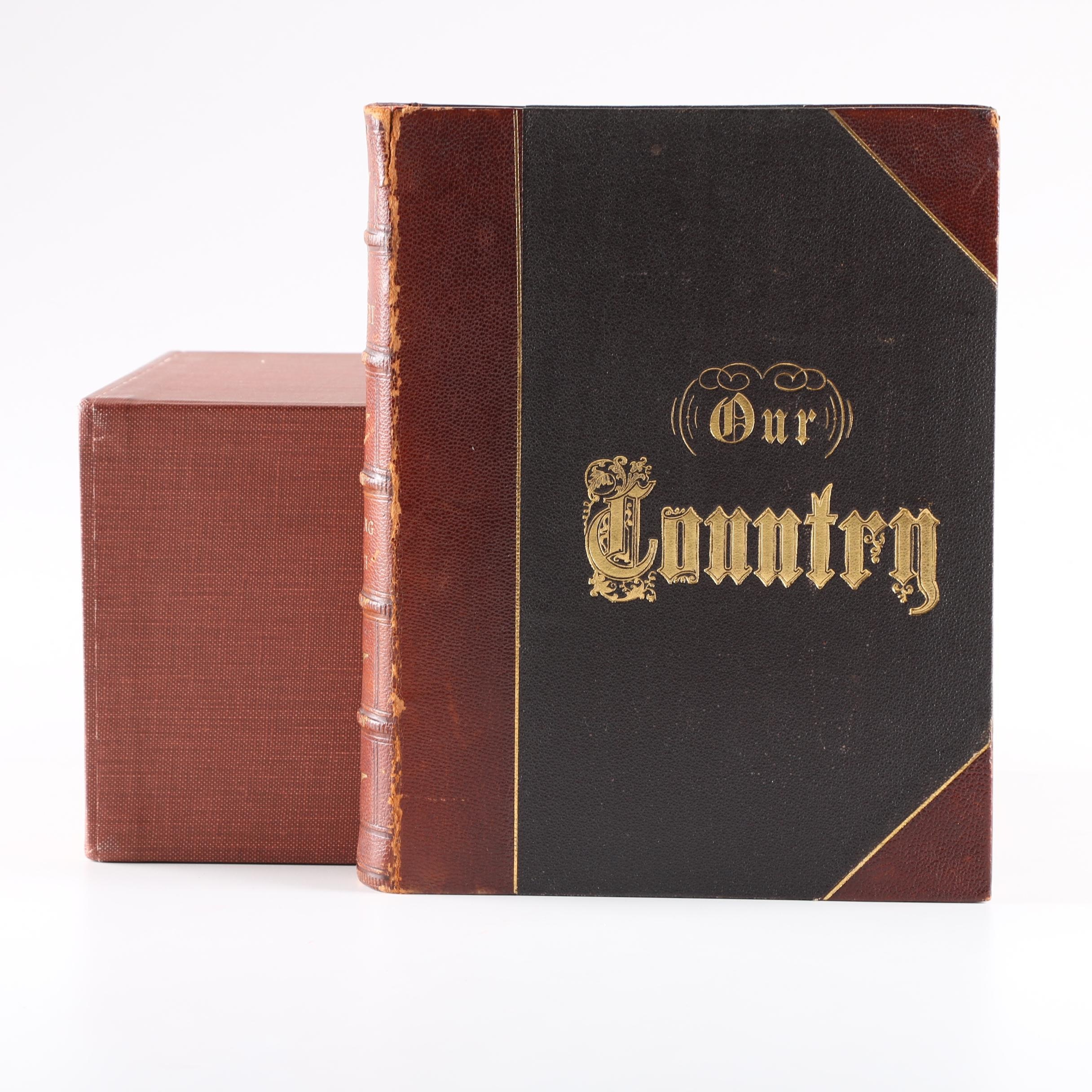 """Slipcase of Volumes 1-3 of """"Our Country"""""""