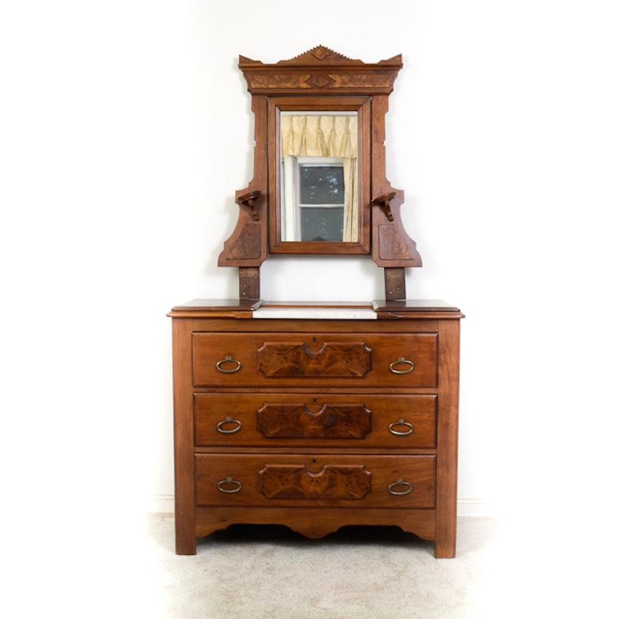Victorian Eastlake Dresser With Mirror Bestdressers 2019