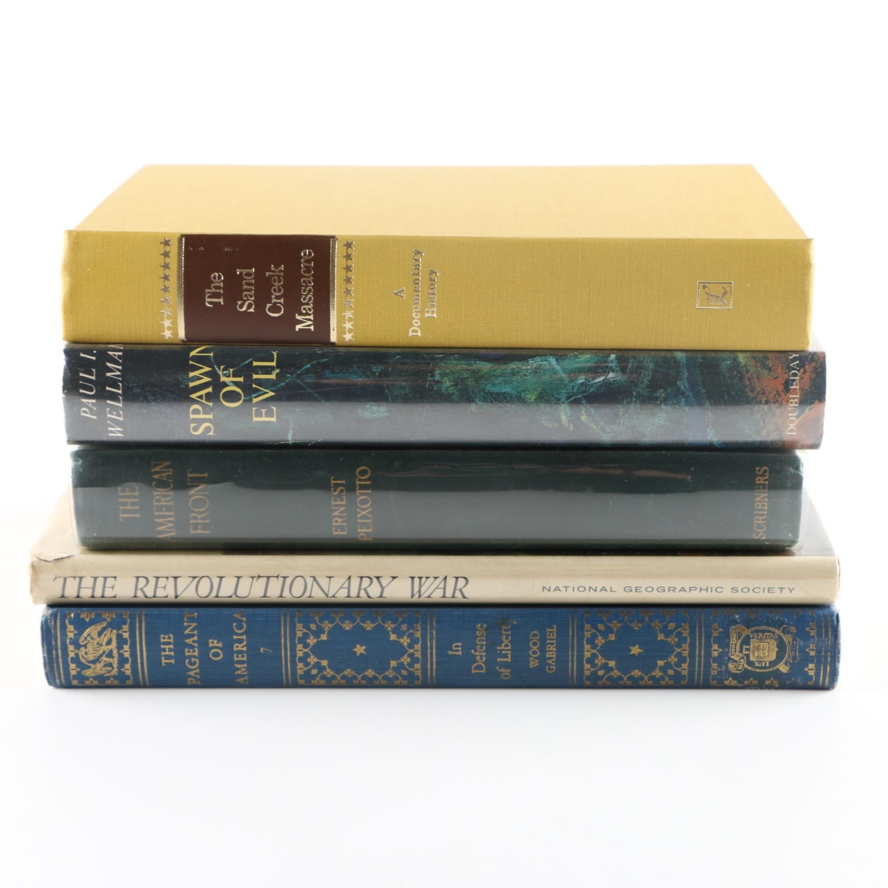 Assortment of Americana Historical Books