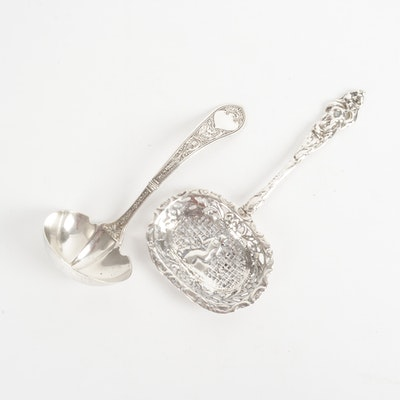 "Sterling Silver Serving Pieces Including Gorham ""Raphael"""