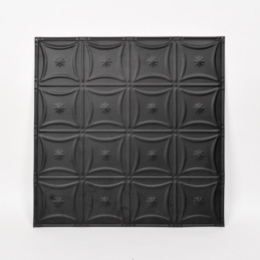 Set Of Vintage Style Pressed Tin Ceiling Panels Ebth