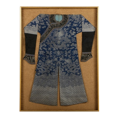 Impressive Chinese Dragon Court Robe Gifted to Dr. Henry Heimlich