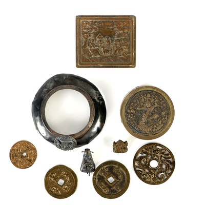 Collection of Asian and Other Metalwork
