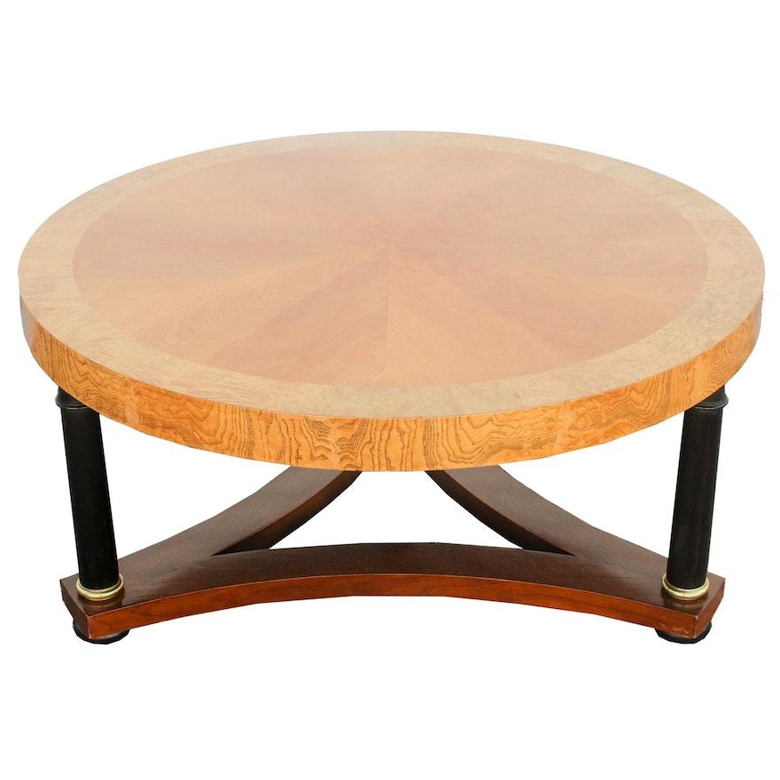 Contemporary Biedermeier Style Coffee Table