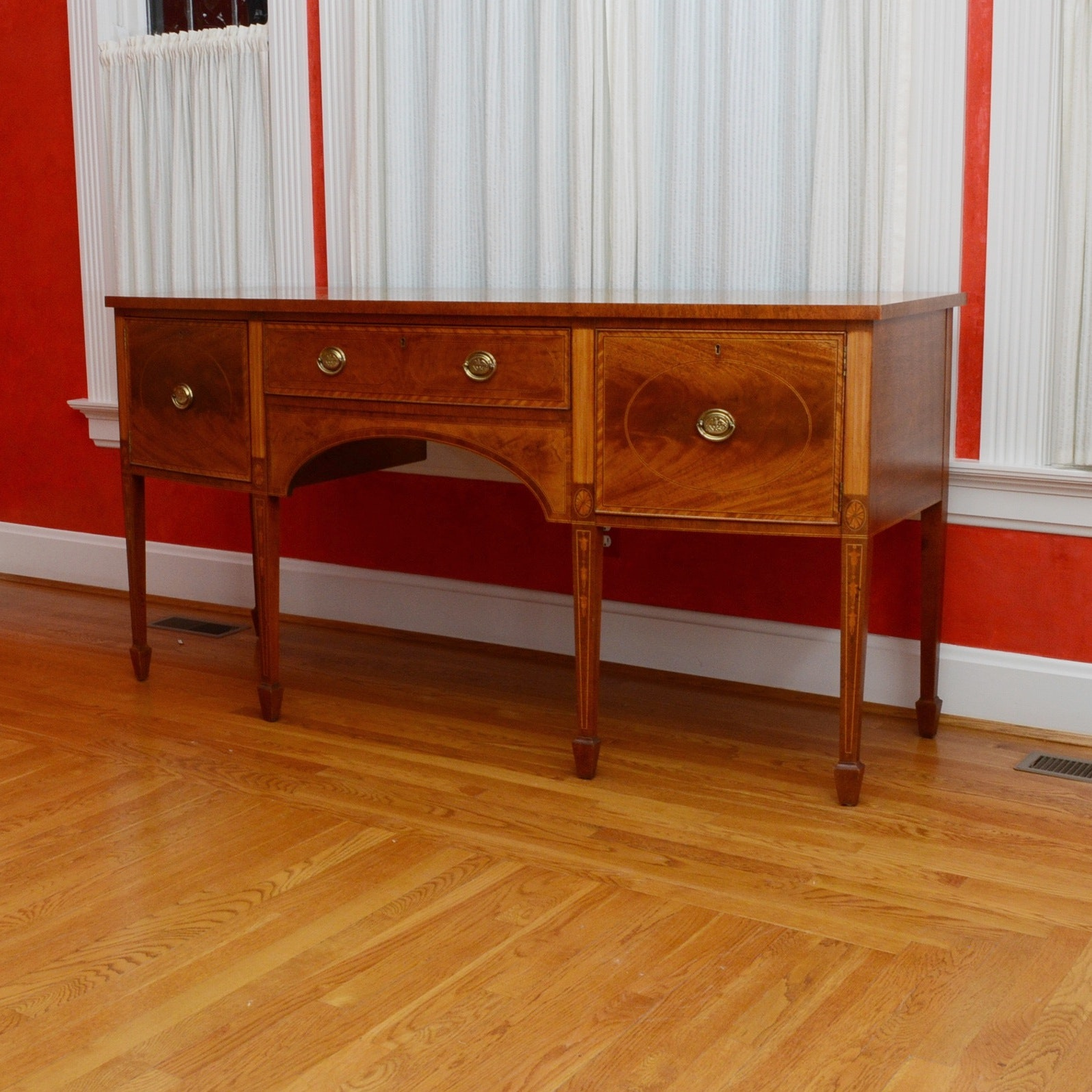 Colonial Style Sideboard by Baker Furniture