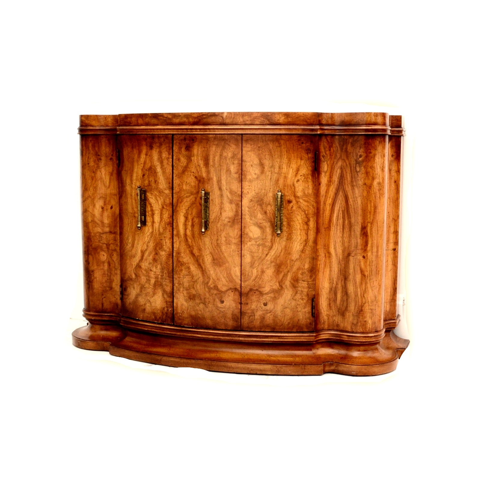 Art Deco Style Pollard Oak French Commode