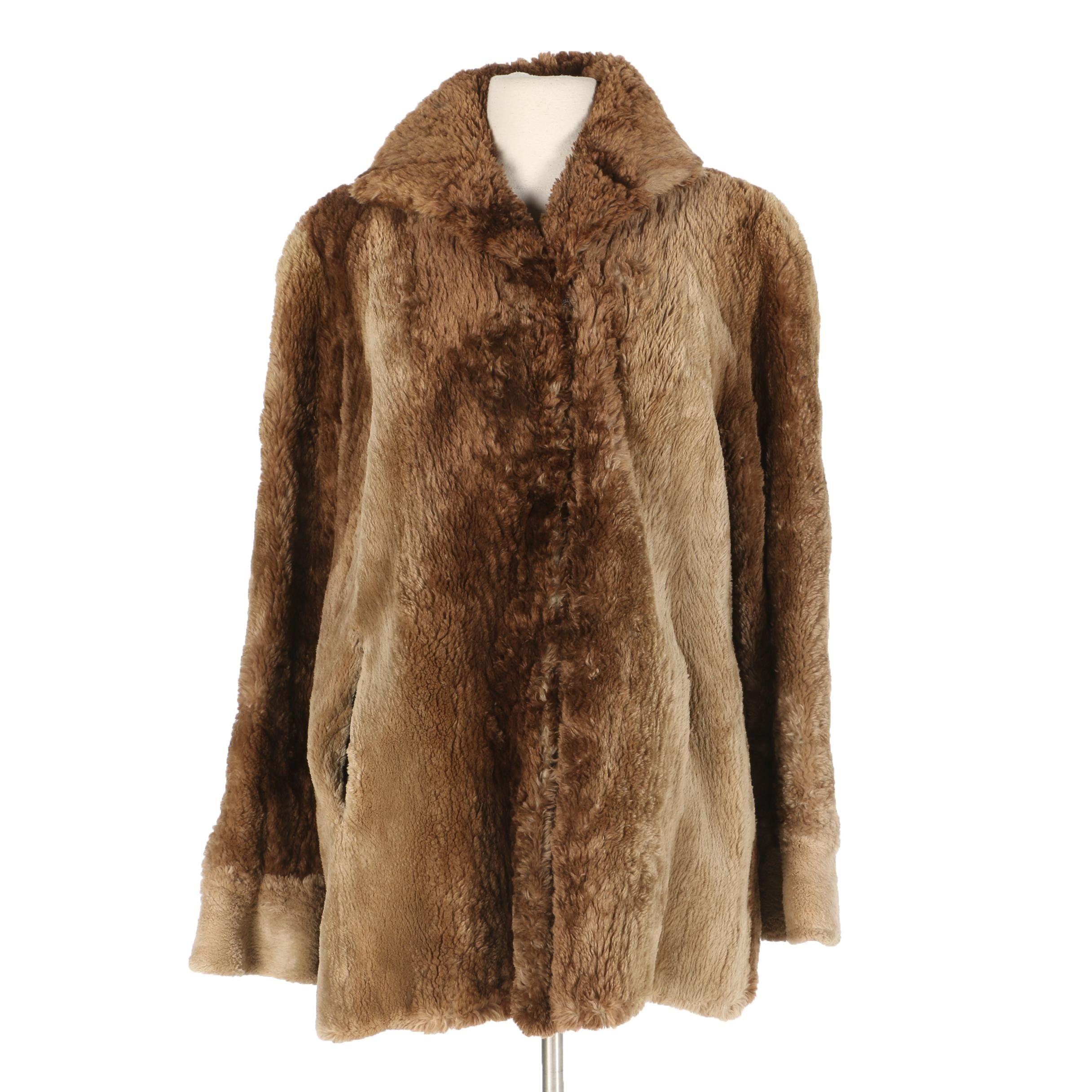 Azens Lamb Fur Coat