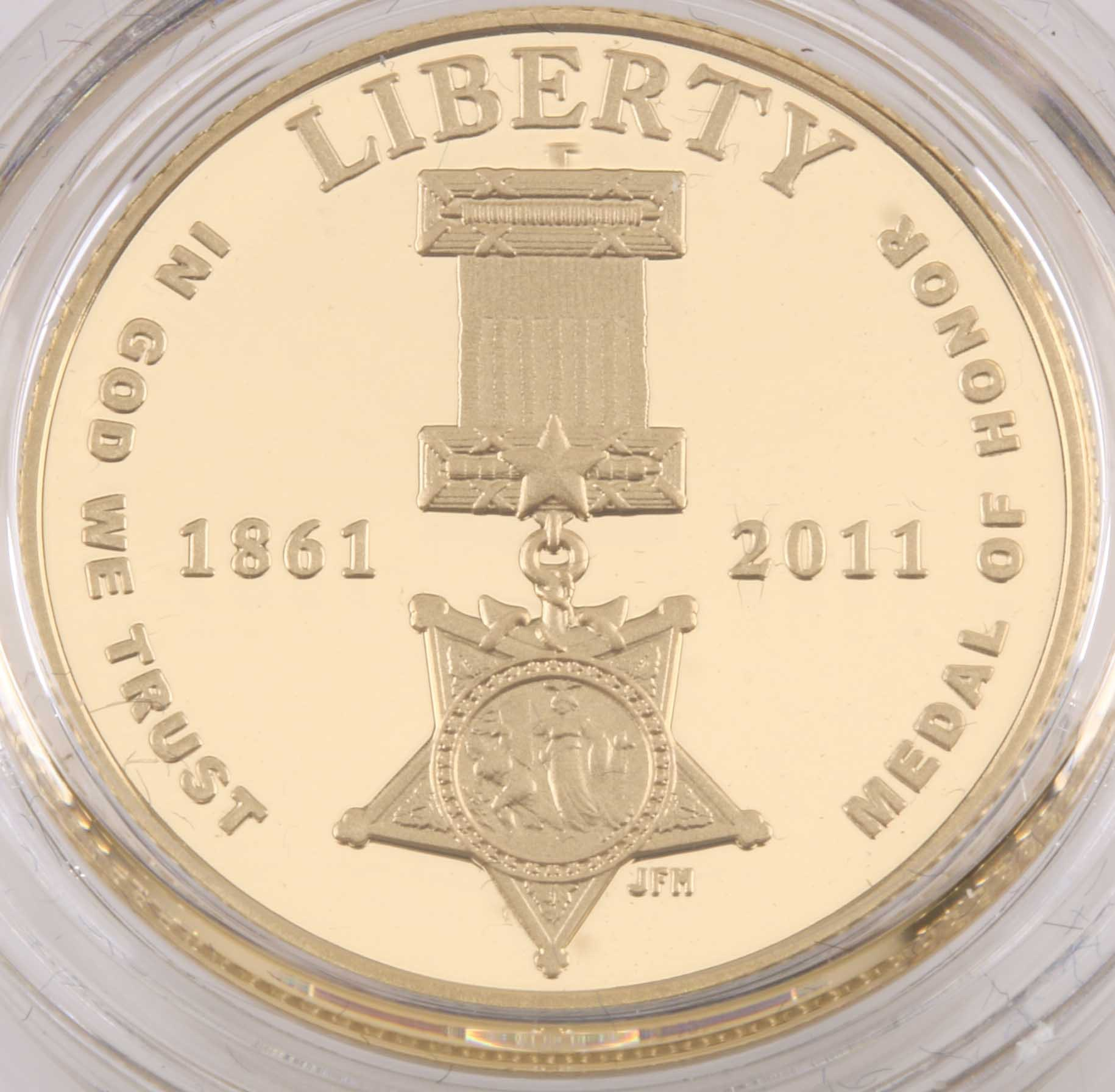 2011 Medal of Honor Five-Dollar Gold Proof Coin