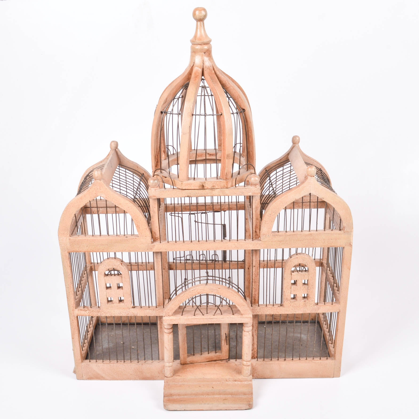 Vintage Architectural Birdcage