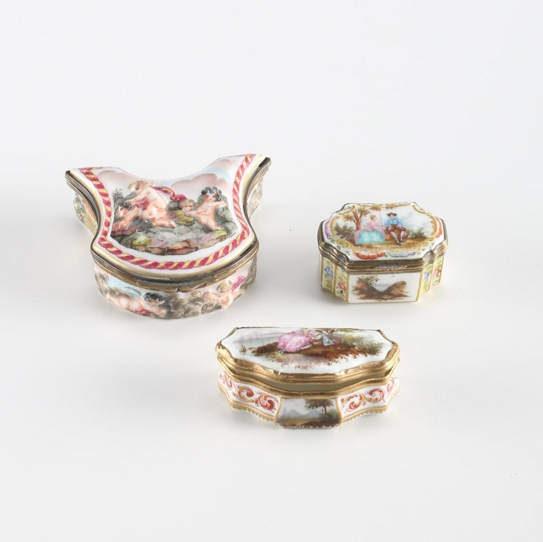 Selection of Ceramic and Porcelain Trinket Boxes