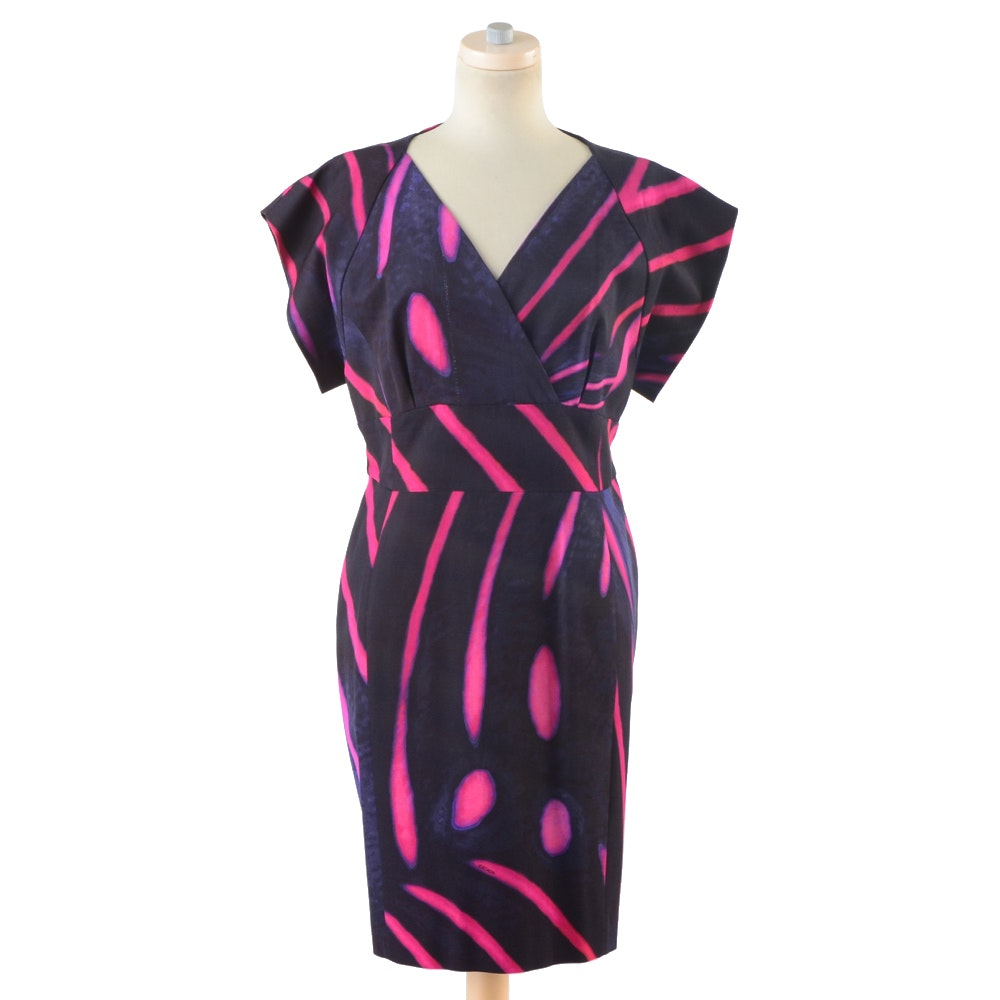 Escada Patterned Shift Dress