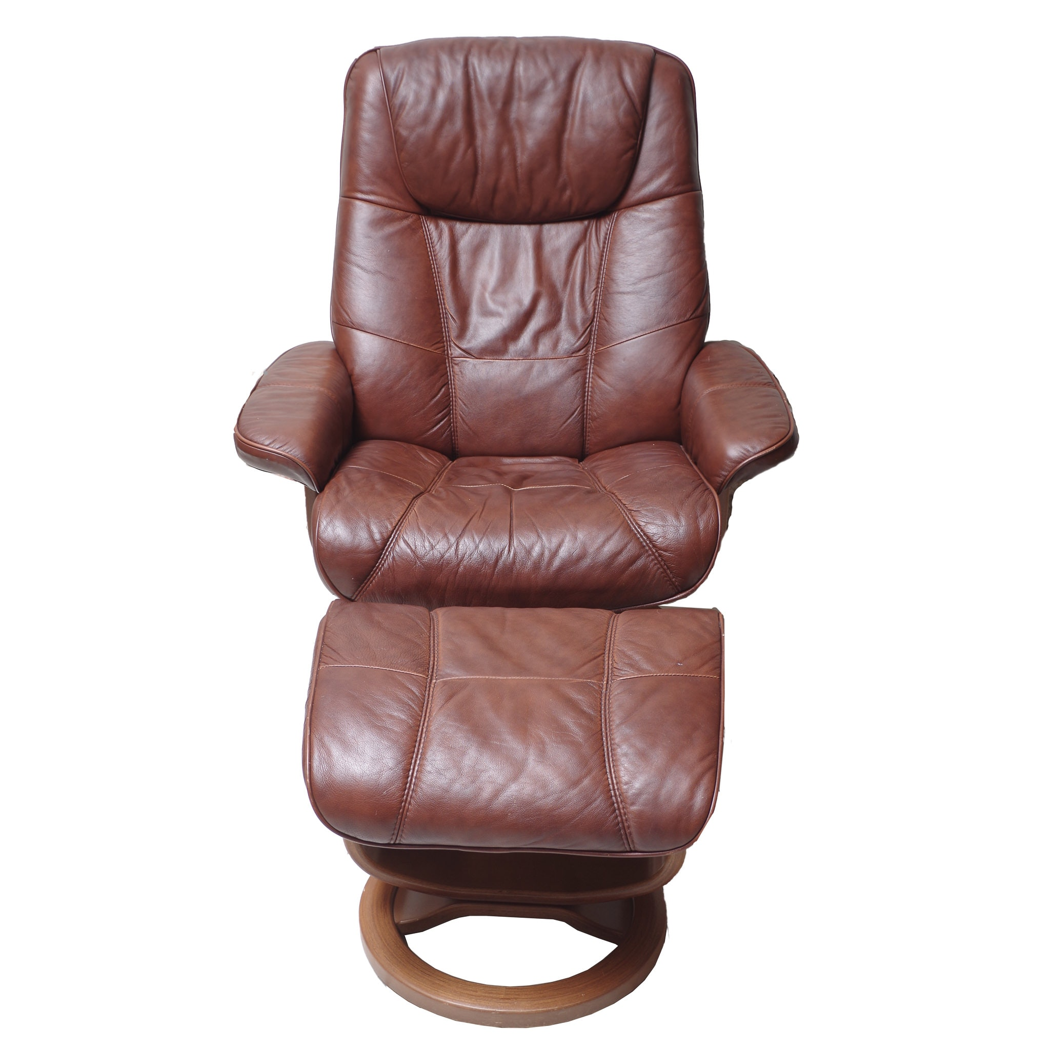 Ekornes Stressless Style Chair and Ottoman