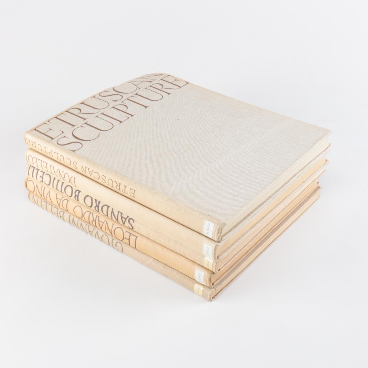 Phaidon Edition Folio Books on Etruscan and Italian Art