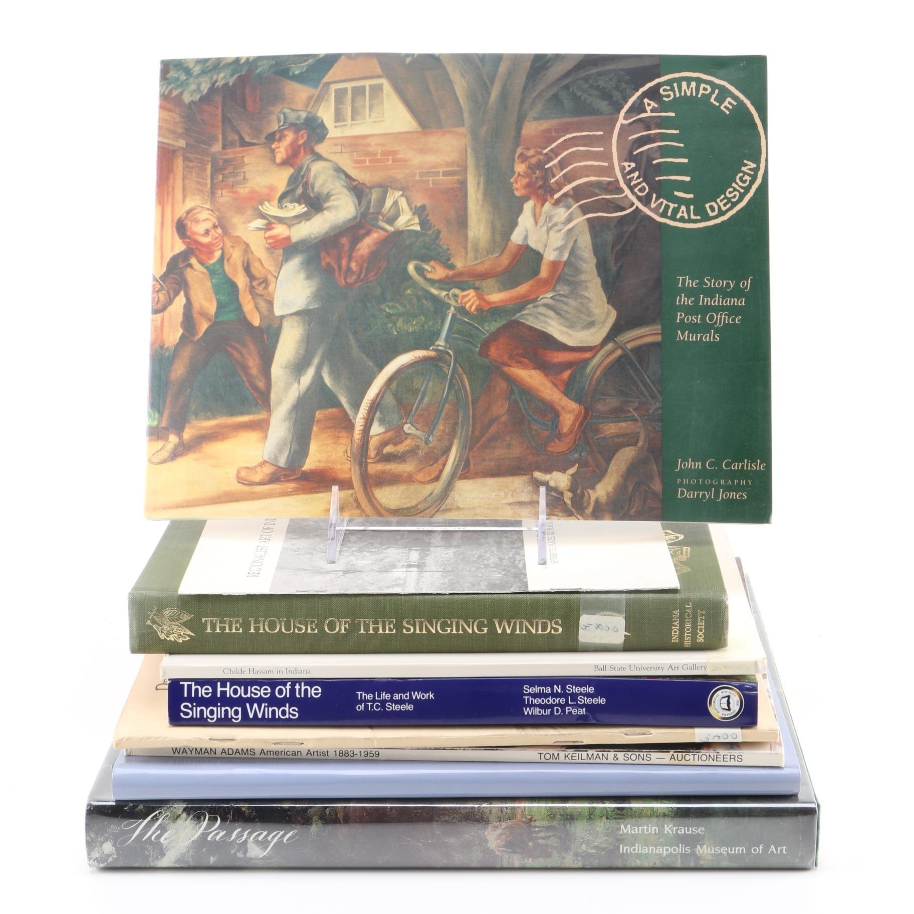 Indiana Based Art Books