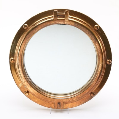 Art collectibles d cor more 17ind011 ebth for Porthole style mirror