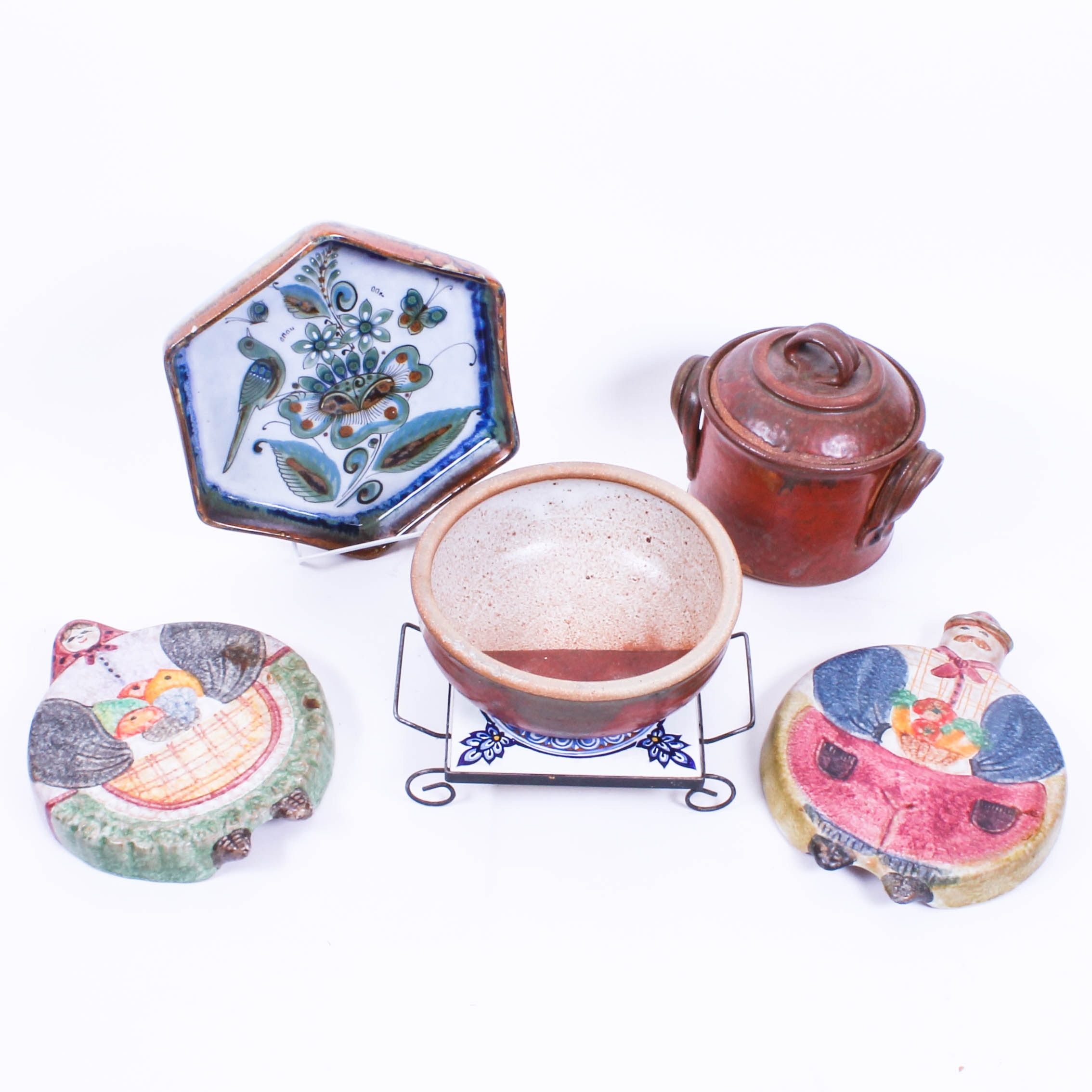 Kitchen Stoneware and Ceramic Assortment