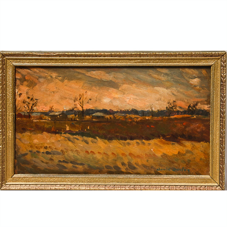 Original Oil Painting by David Dooley
