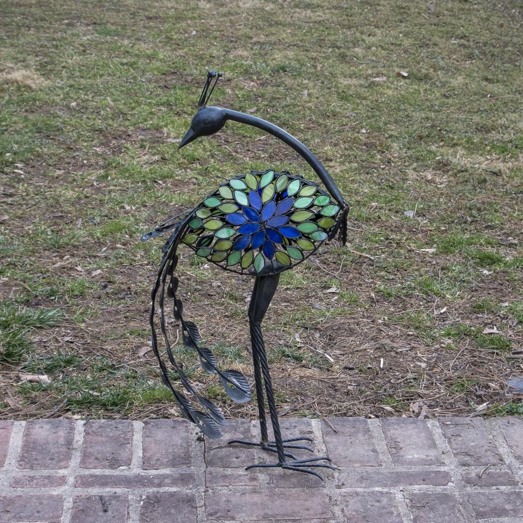 Peacock Garden Statue ...