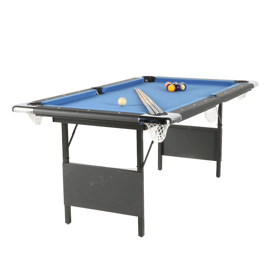Hathaway Fairmont Portable Pool Table EBTH - Hathaway fairmont pool table