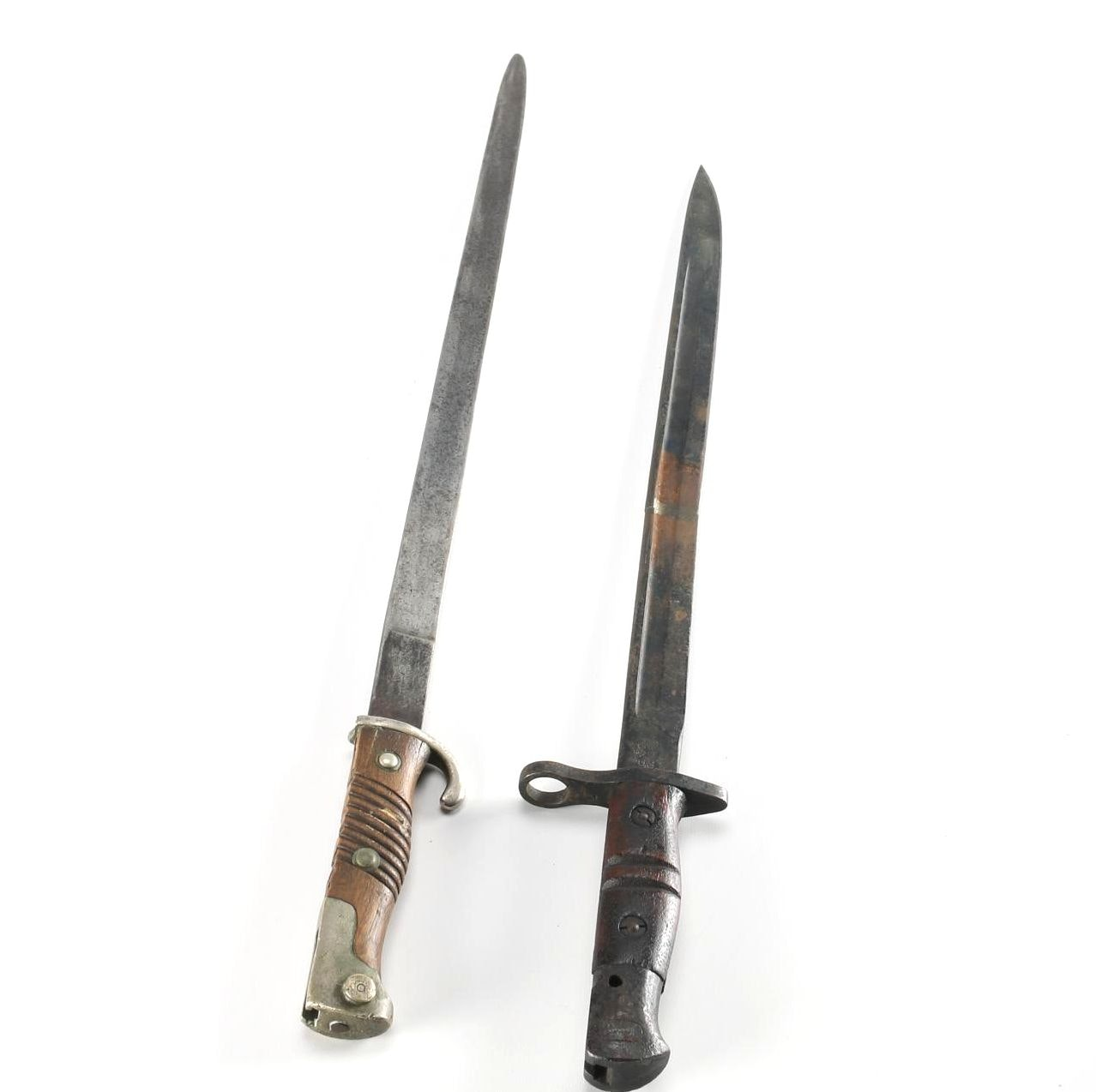 German and American Bayonets