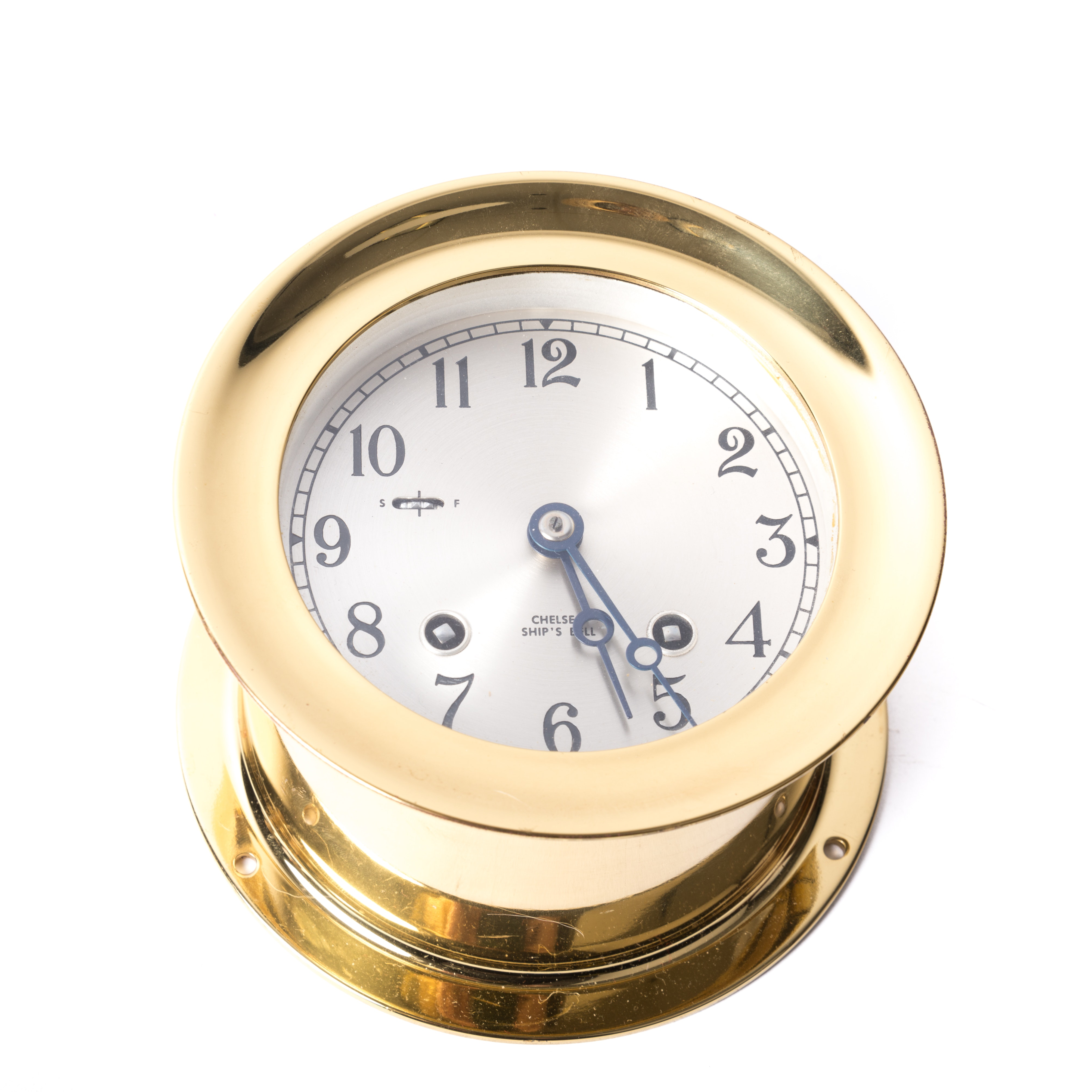 "Chelsea ""Ship's Bell"" Clock"