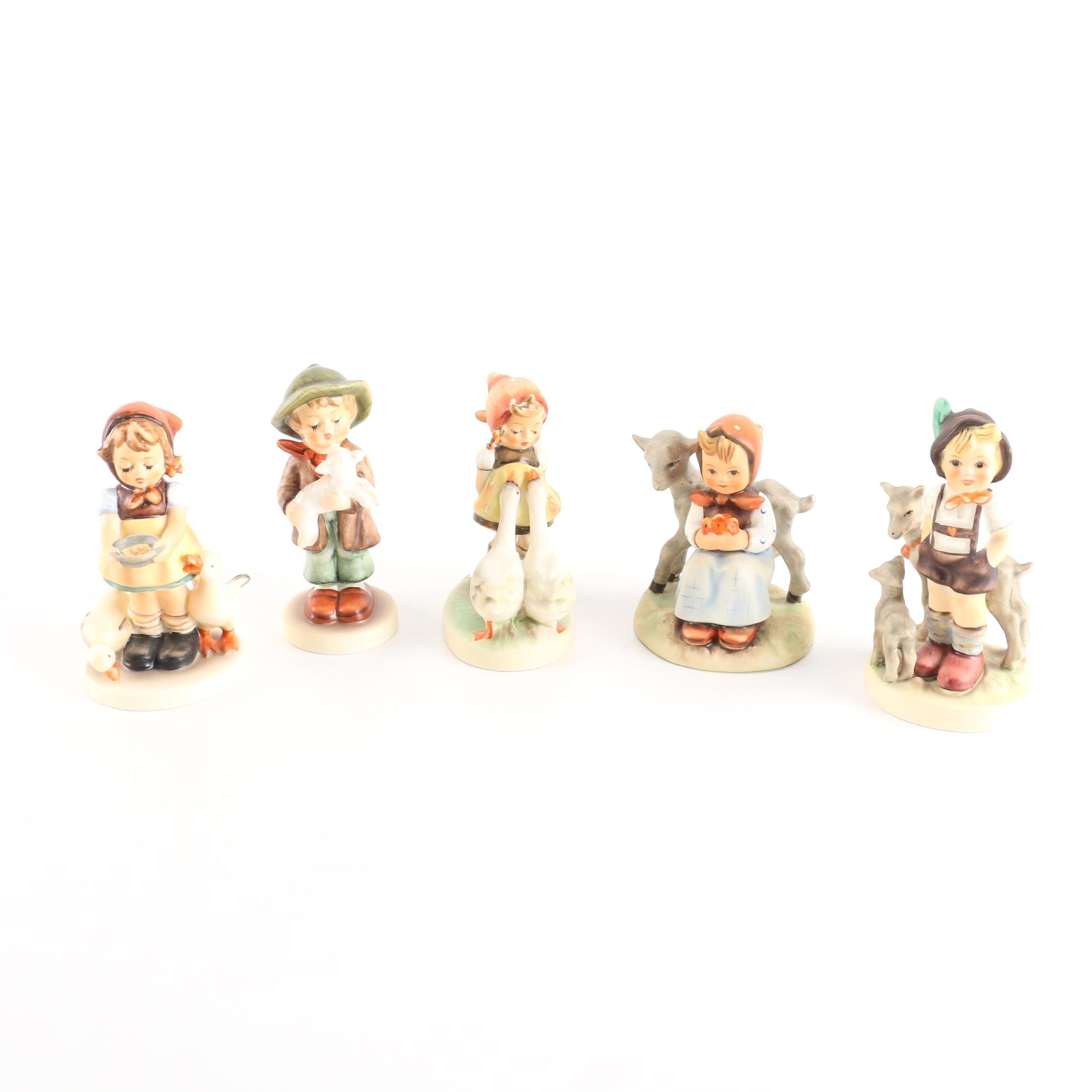 Hummel Figurines With Animals
