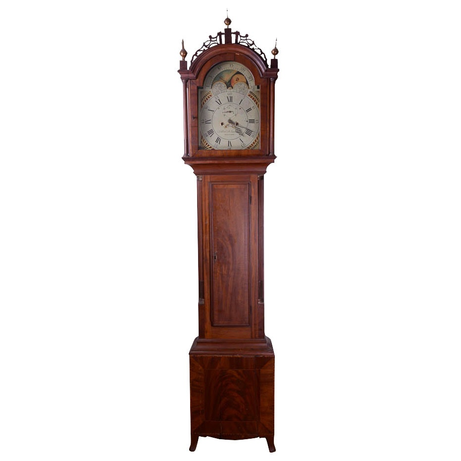 Abel B. Eastman Belfast Grandfather Clock