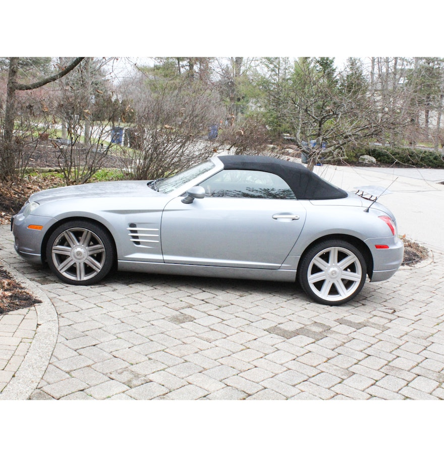 2005 Chrysler Crossfire Limited 2-Door Roadster : EBTH