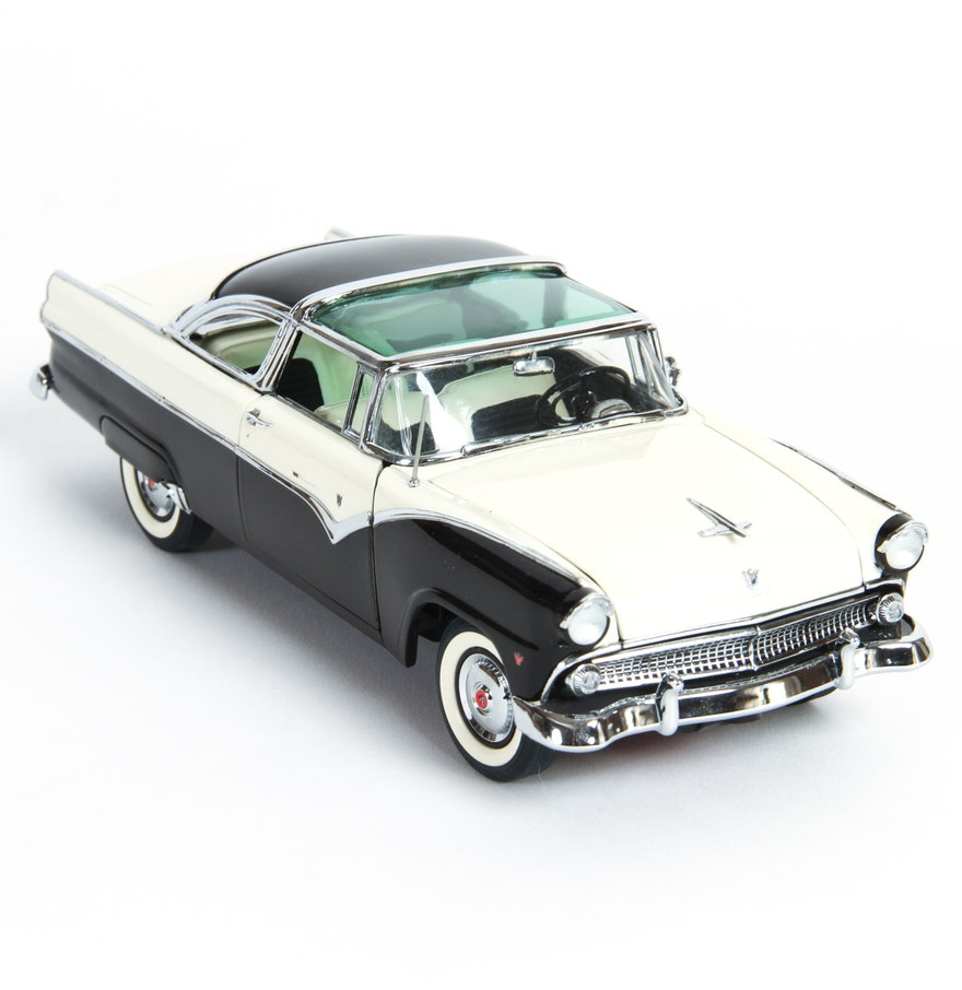 1955 ford fairlane crown victoria blog cars on line - 1955 Ford Fairlane Crown Victoria Die Cast Model Car