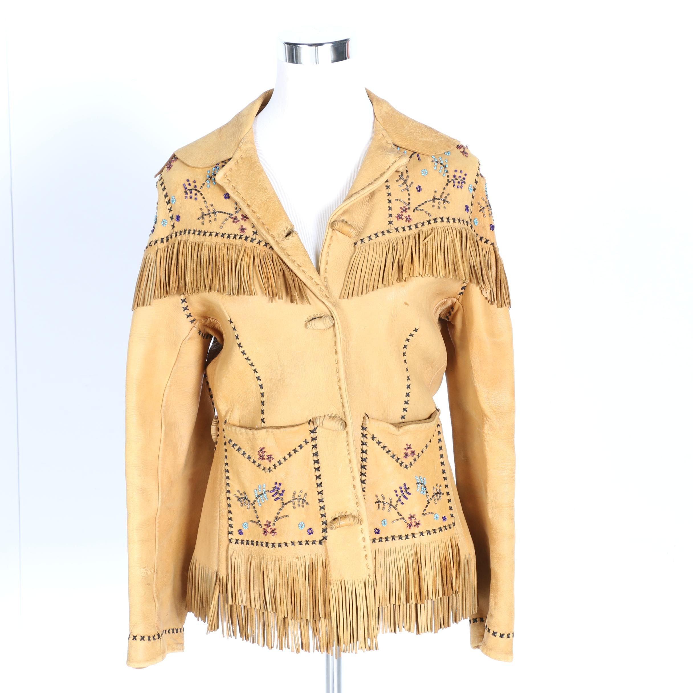Nezperce Native American Inspired Women's Jacket