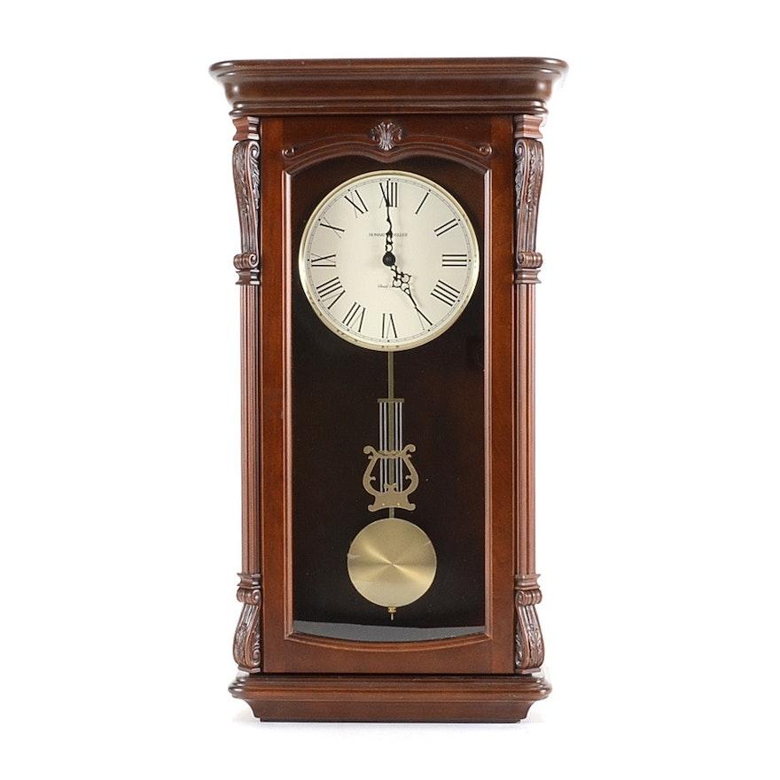Howard Miller Dual Chime Wall Clock