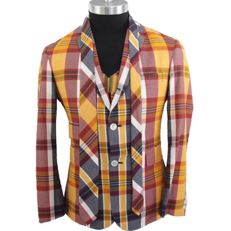 Black Fleece by Thom Browne Blazer, Sweater Vest, and Tie Set