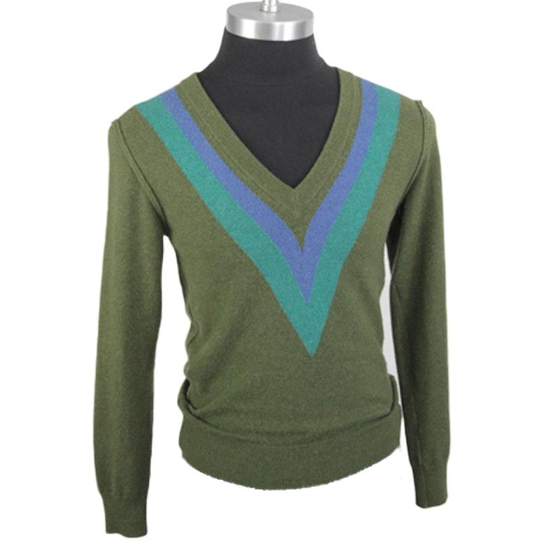 Men's Dolce & Gabbana V-Neck Cashmere Sweater