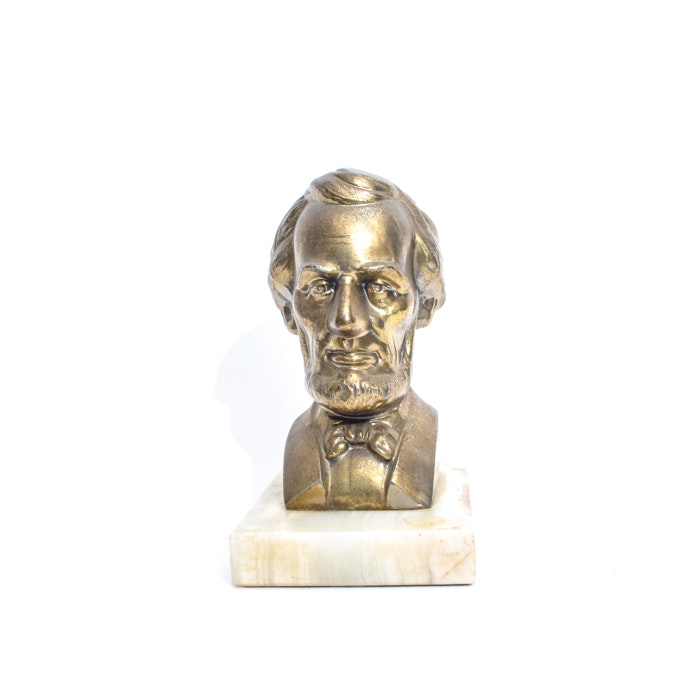 Bronze Lincoln Bust