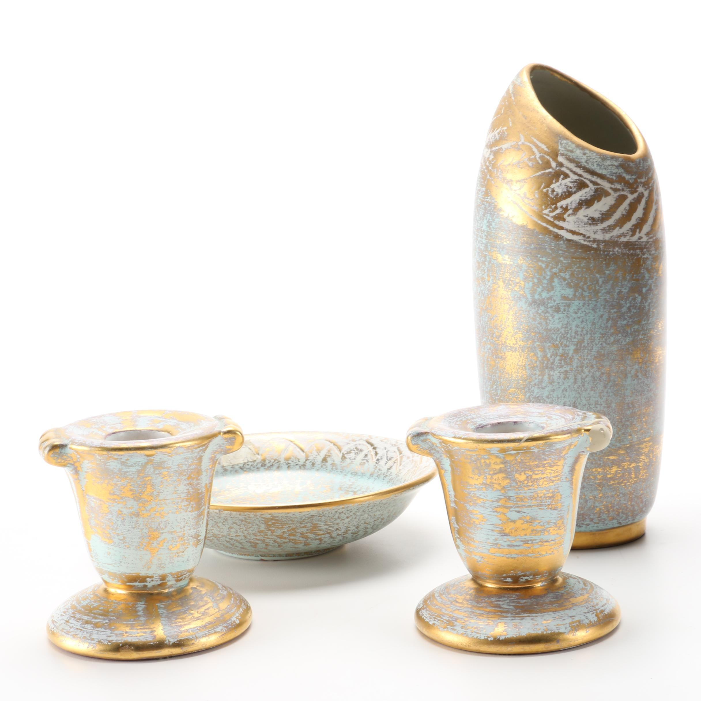"""Stangl """"Antique Gold"""" Pottery Assortment"""