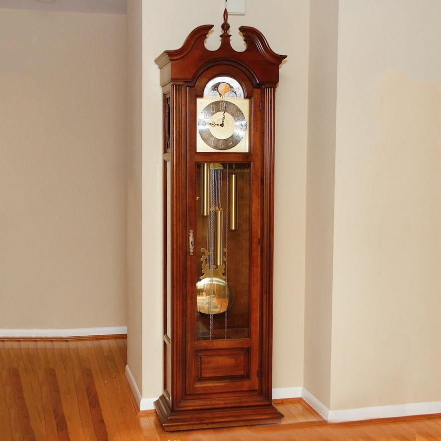 Howard Miller Aristocrat Triple Chime Grandfather Clock Ebth