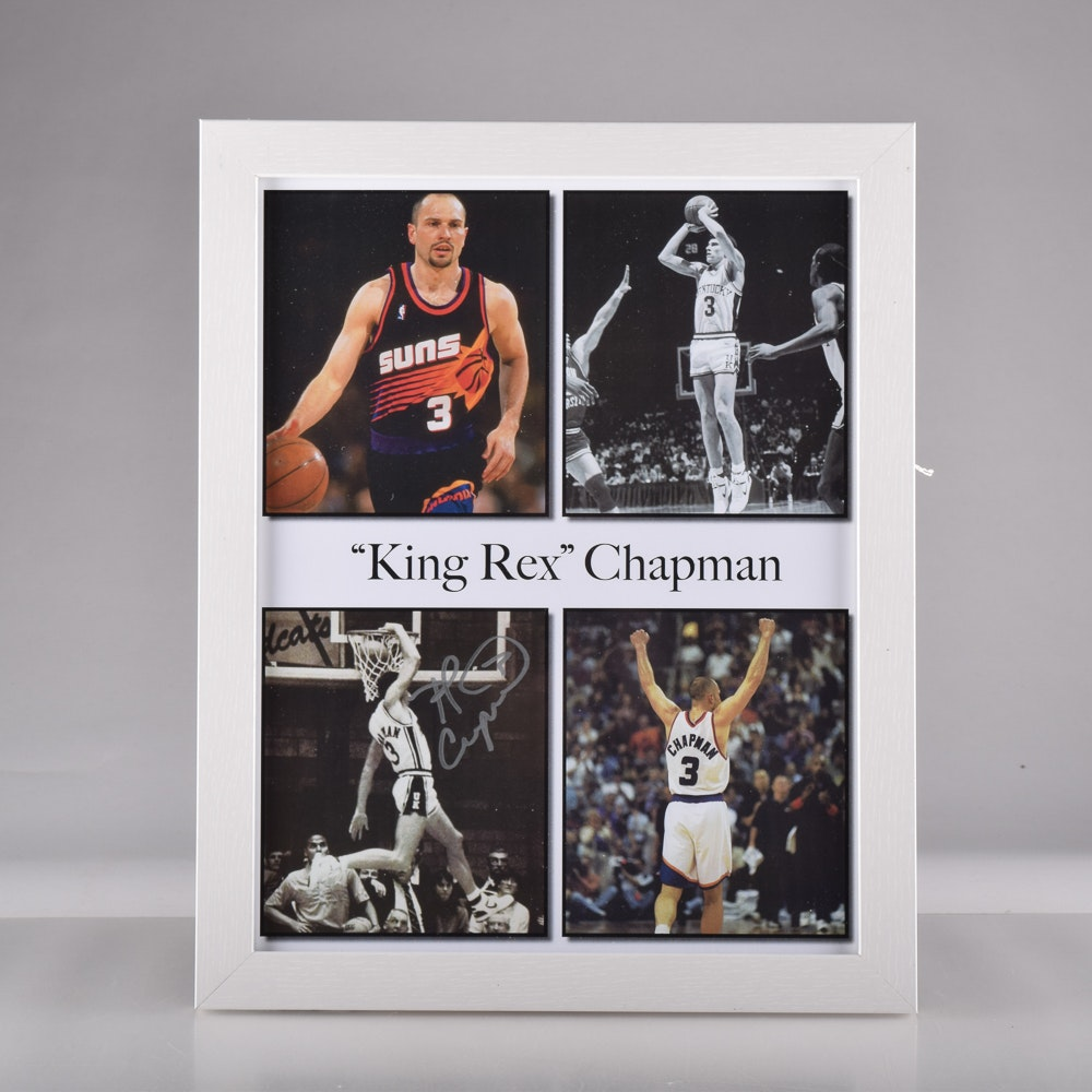 """King Rex"""" Chapman Autographed graphic Print with COA EBTH"""
