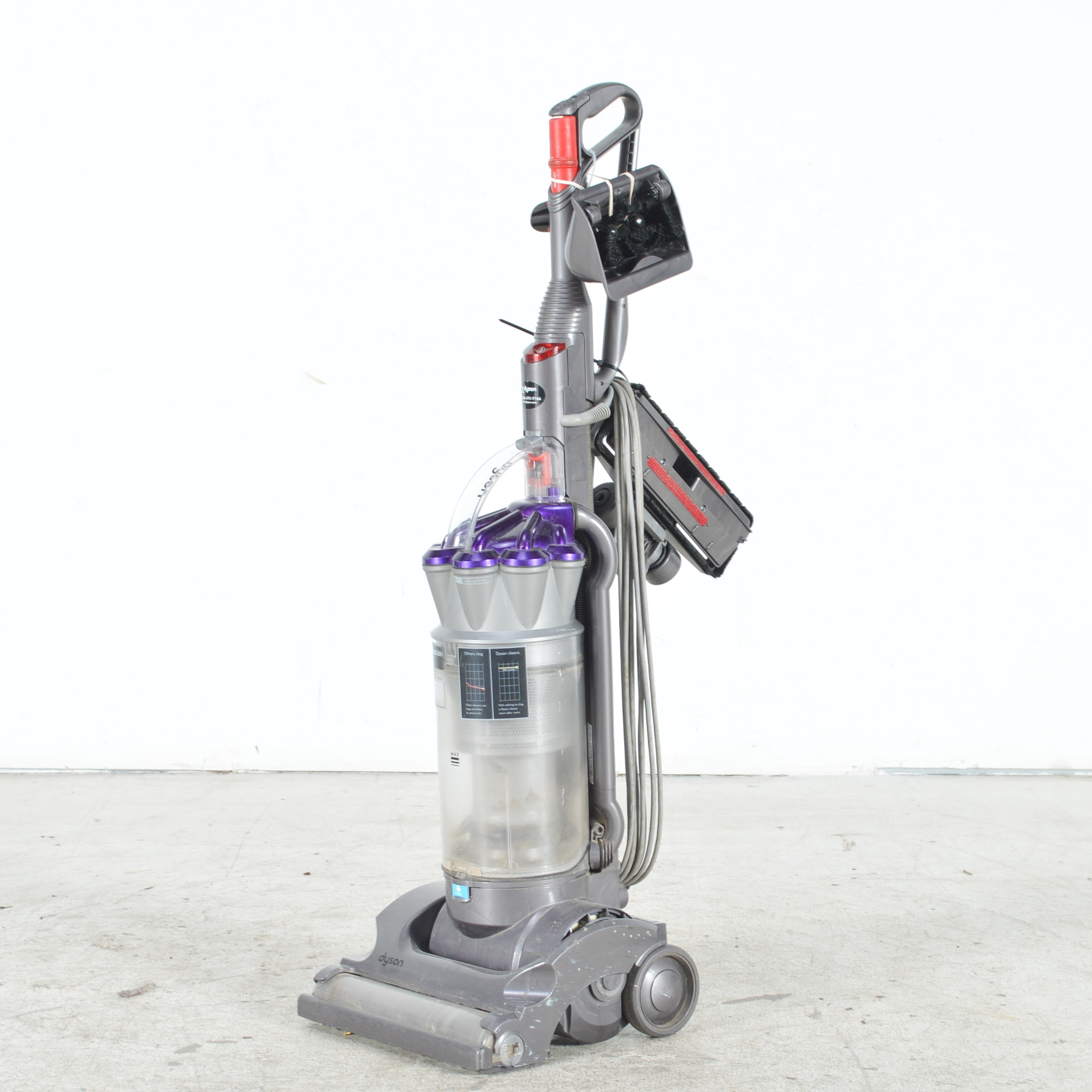 dyson dc17 absolute animal usa upright vacuum cleaner