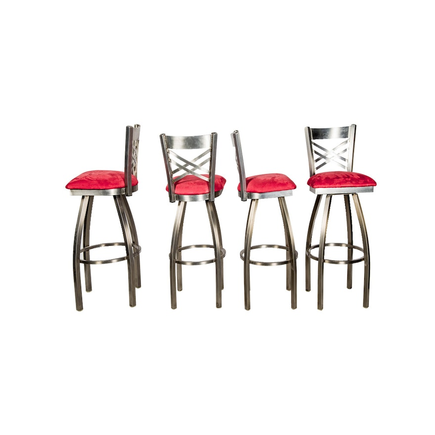 """Catalina"" Swivel Bar Stools By Holland Bar Stool Company"