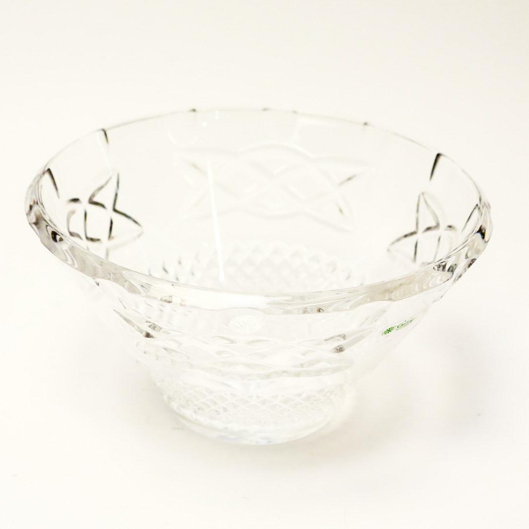 Galway Irish Crystal Bowl